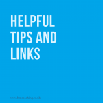helpful tips and links